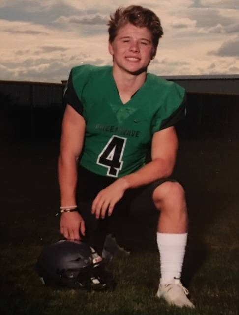 Churchill County's Sean McCormick is a member of the Las Vegas Review-Journal's all-state football team.