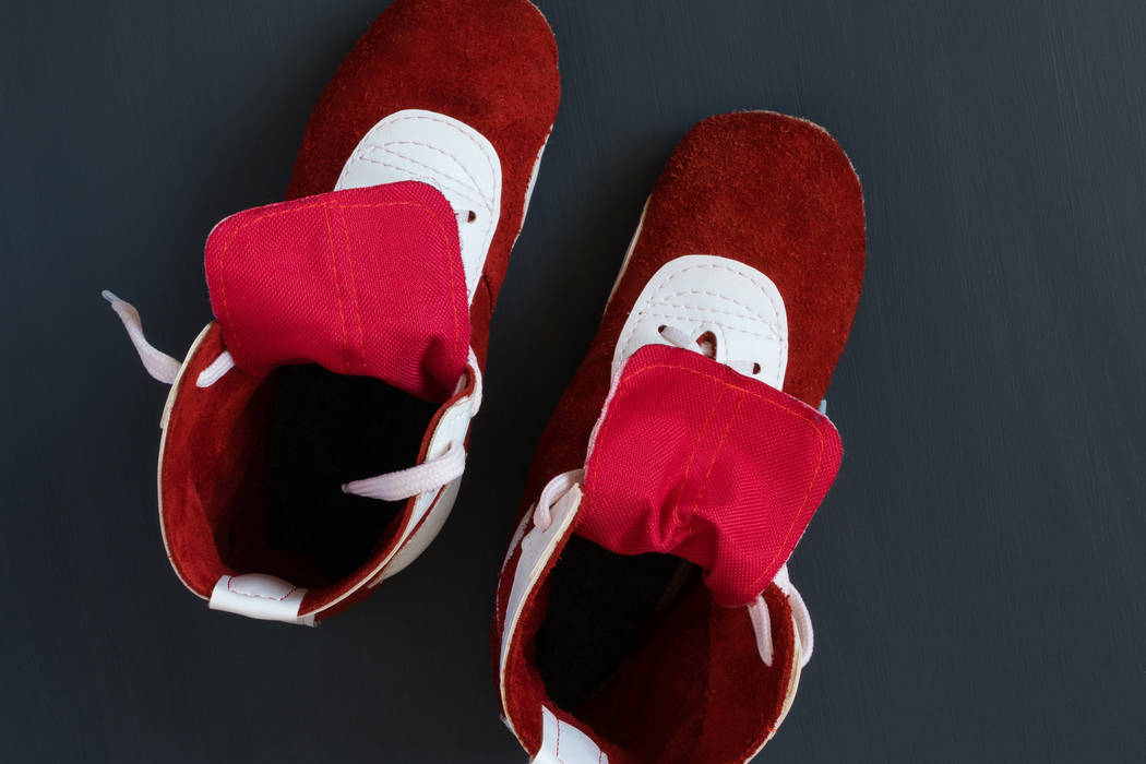 Wrestling shoes. (Thinkstock)