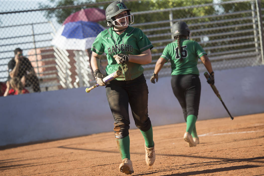 Gianna Carosone is one of seven returning starters for Rancho. Erik Verduzco/Las Vegas Review-Journal