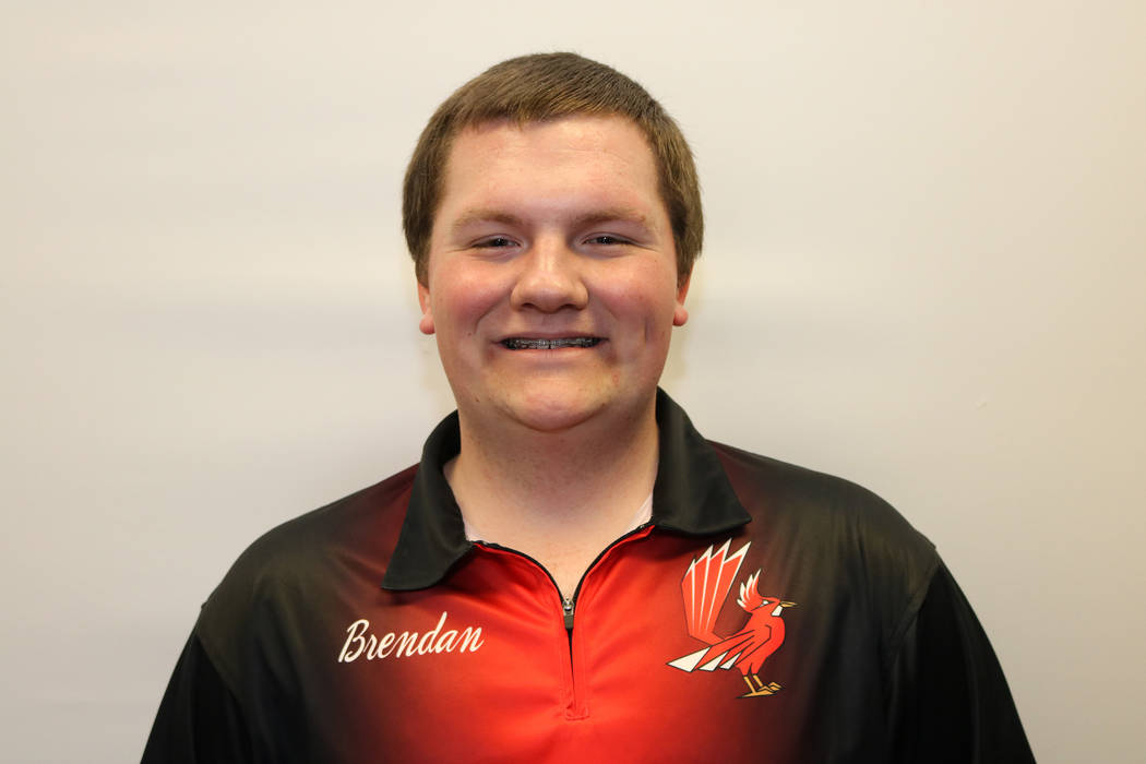 Tech's Brendan Lindsey is a member of the Las Vegas Review-Journal's all-state bowling team.