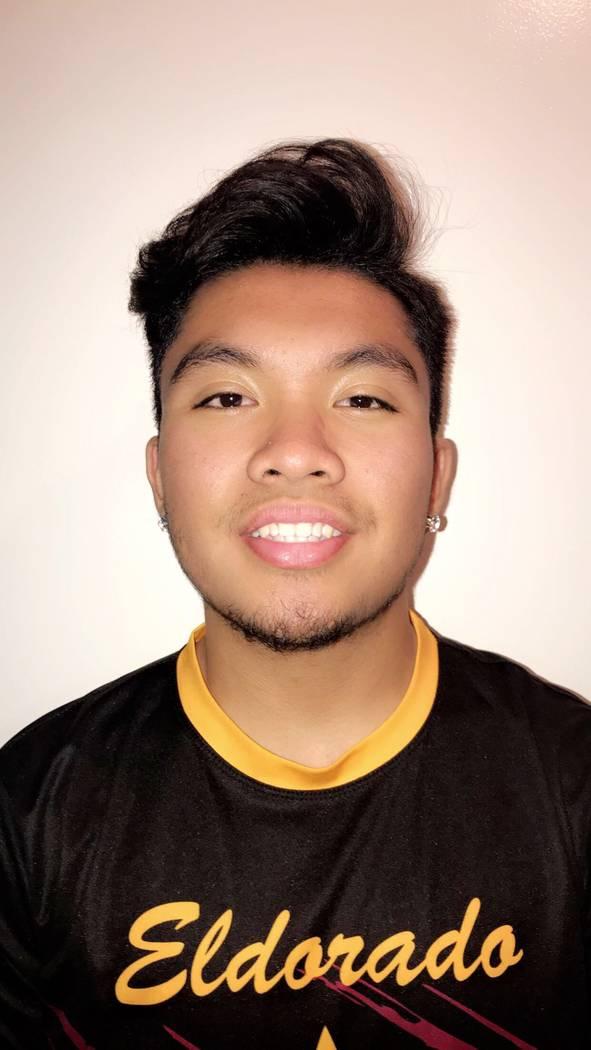 Eldorado's Elijah Lomotan is a member of the Las Vegas Review-Journal's all-state boys bowling team.