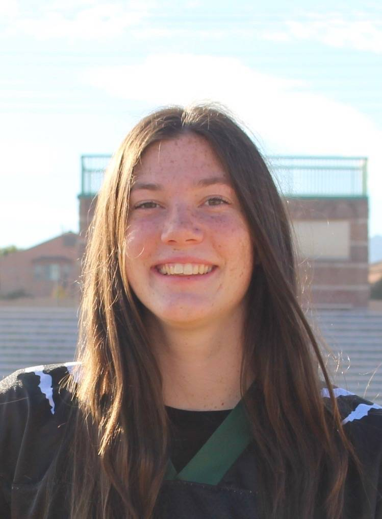 Palo Verde's Betsy Bellinger is a member of the Las Vegas Review-Journal's all-state flag football team.