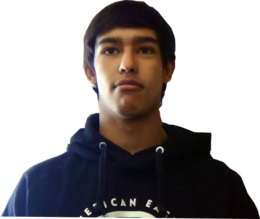 Spring Creek's Anthony Chavez is a member of the Las Vegas Review-Journal's all-state wrestling team.