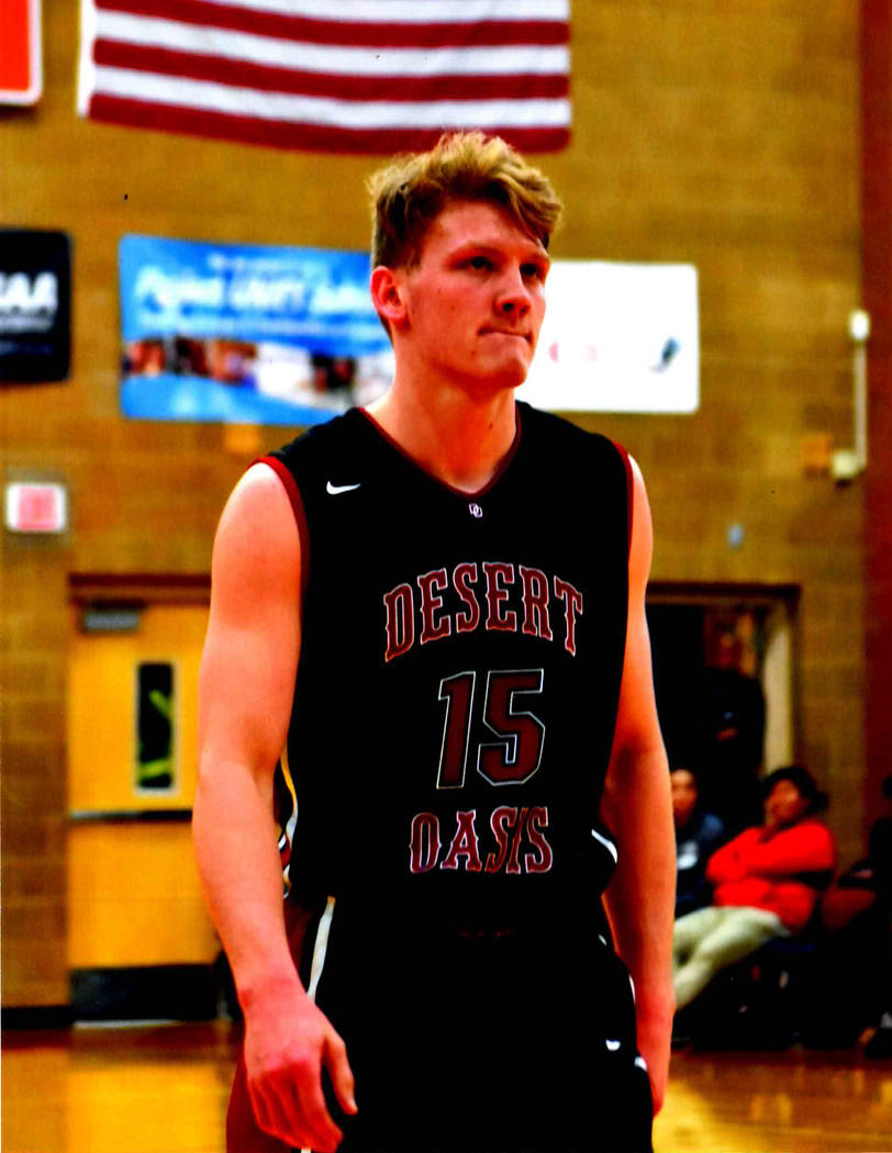 Desert Oasis' Jacob Heese is a member of the Las Vegas Review-Journal's all-state boys basketball team.