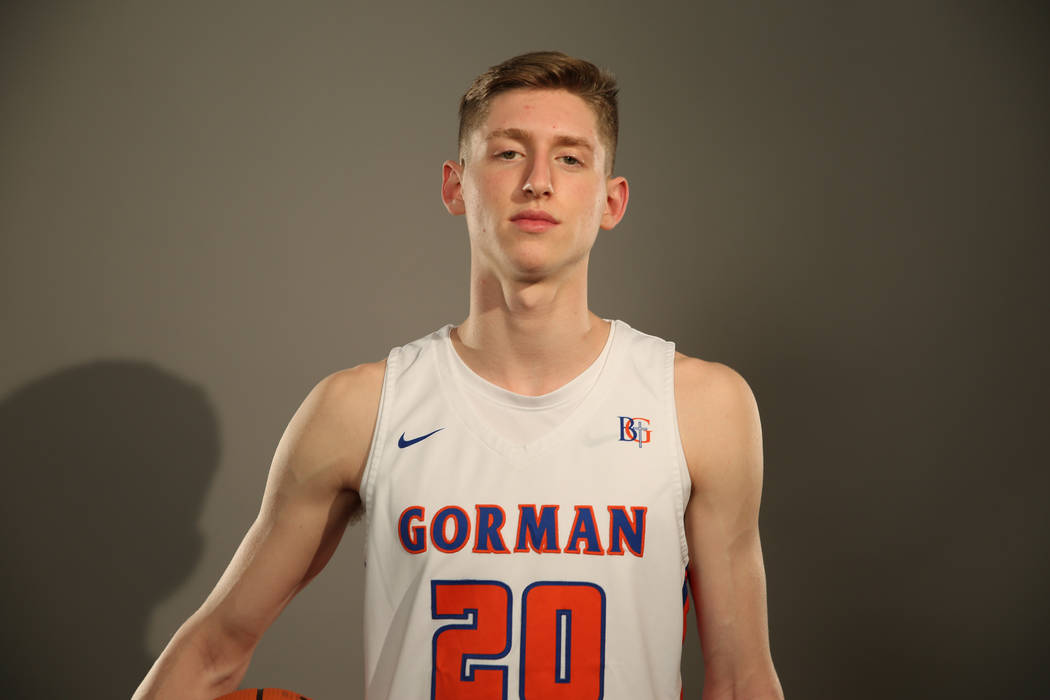 Bishop Gorman's Noah Taitz is a member of the Las Vegas Review-Journal's all-state boys basketball team.