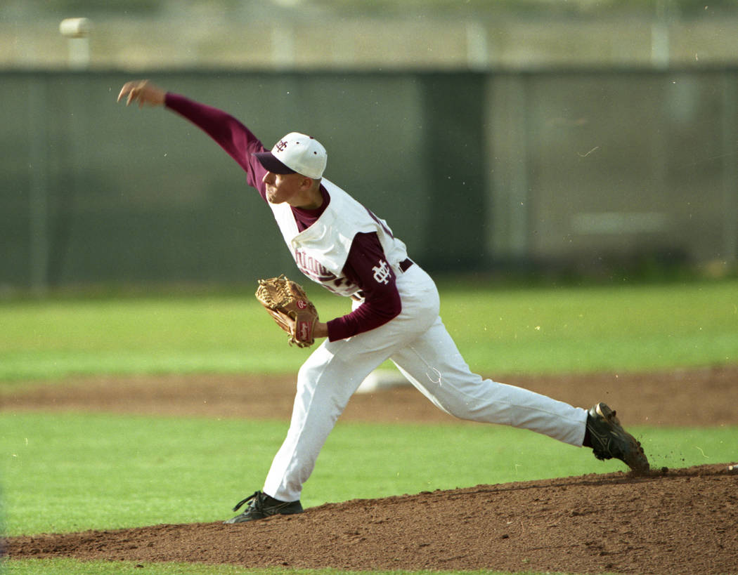 Mike Esposito of Cimarron-Memorial. (Review-Journal file photo)