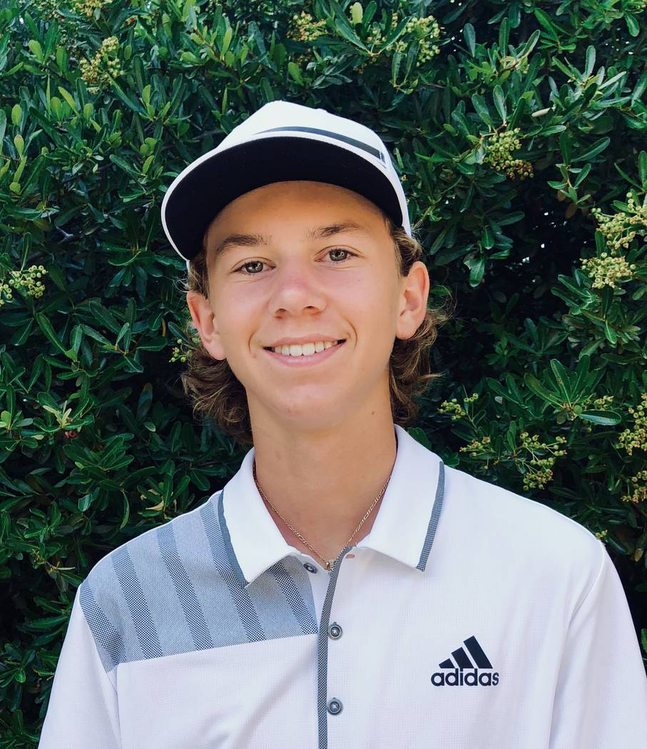 Coronado's Brett Sodetz is a member of the Las Vegas Review-Journal's all-state boys golf team.