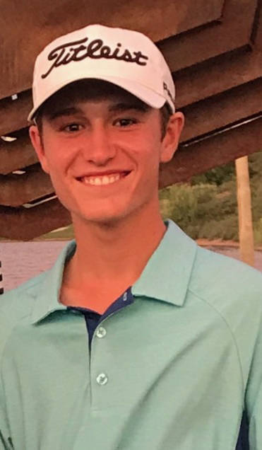 Arbor View's Cameron Gambini is a member of the Las Vegas Review-Journal's all-state boys golf team.