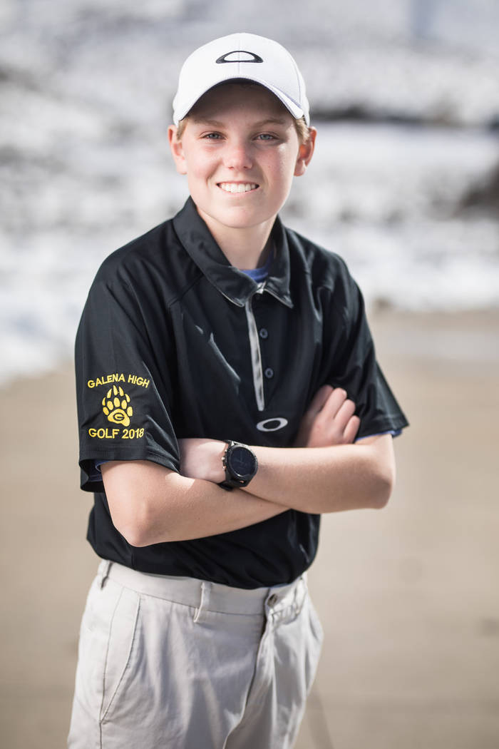 Galena's Ian Gilligan is a member of the Las Vegas Review-Journal's all-state boys golf team.