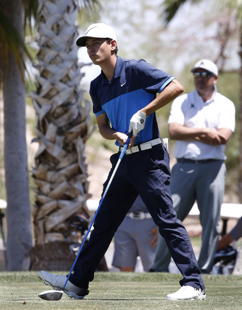 Foothill's Noah MacFawn is a member of the Las Vegas Review-Journal's all-state boys golf team.