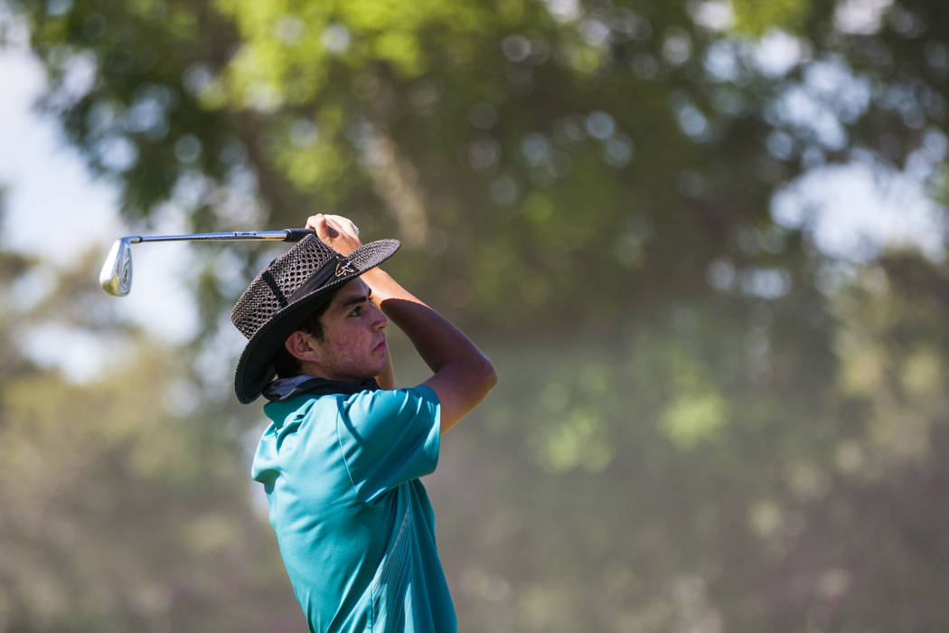 Western's Jared Smith is a member of the Las Vegas Review-Journal's all-state boys golf team.