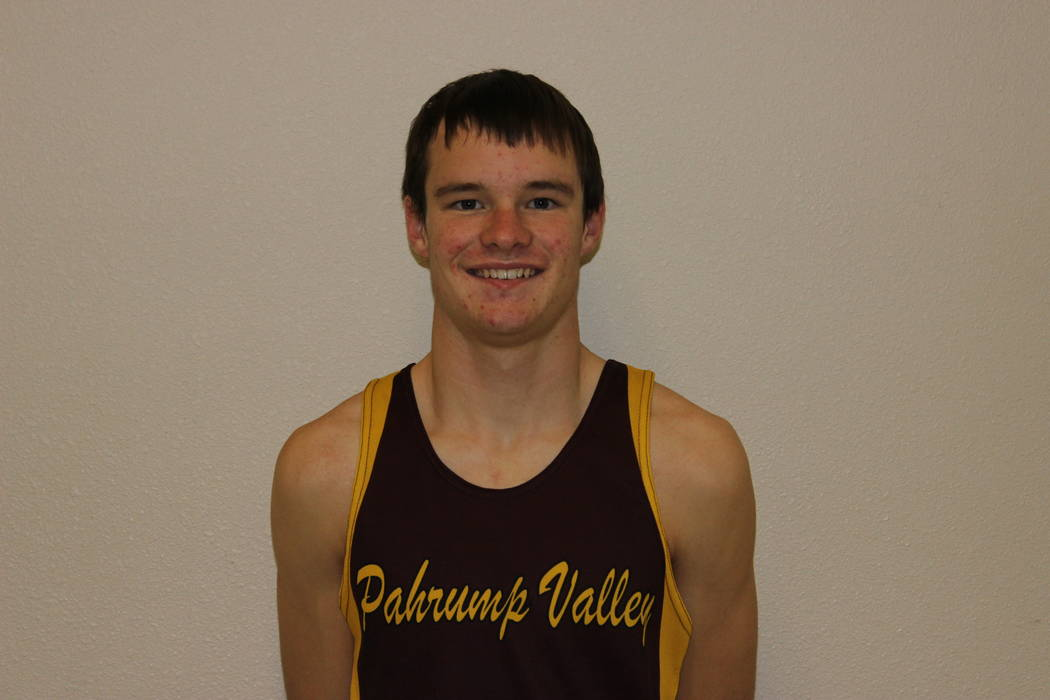 Pahrump Valley's Bryce Odegard is a member of the Las Vegas Review-Journal's all-state track and field team.