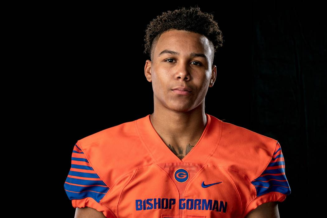 Bishop Gorman's Jalen Nailor is a member of the Las Vegas Review-Journal's all-state boys track and field team.