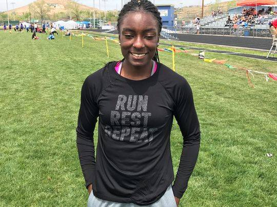 McQueen's Destiny Tolliver is a member of the Las Vegas Review-Journal's all-state girls track and field team.