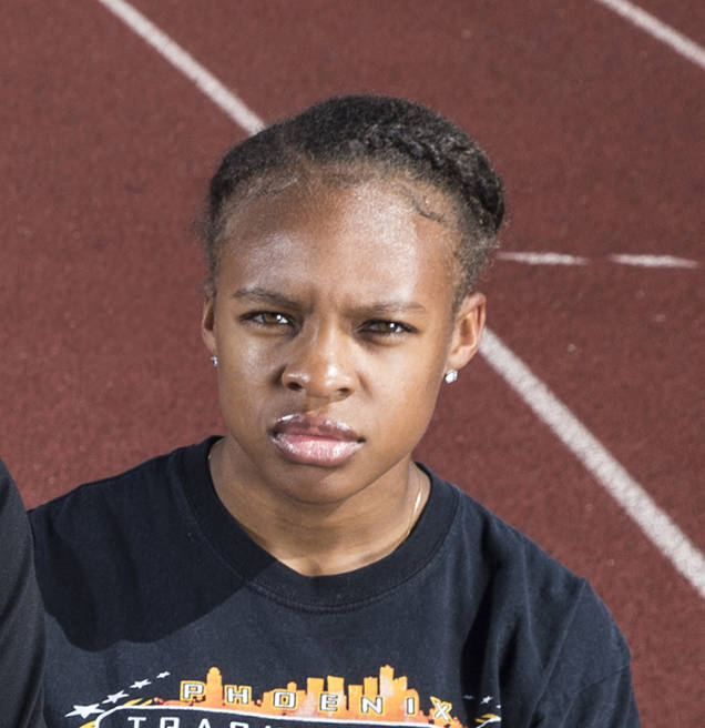 Rancho's Amir'a Edmond is member of the Las Vegas Review-Journal's all-state girls track team.