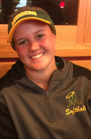 Bishop Manogue's Bailey McLaughlin is a member of the Las Vegas Review-Journal's all-state softball team.
