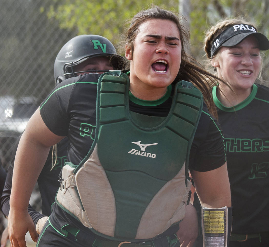 Palo Verde's Grace Chavez is a member of the Las Vegas Review-Journal's all-state softball team.