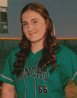 Rancho's Gianna Carosone is a member of the Las Vegas Review-Journal's all-state softball team.