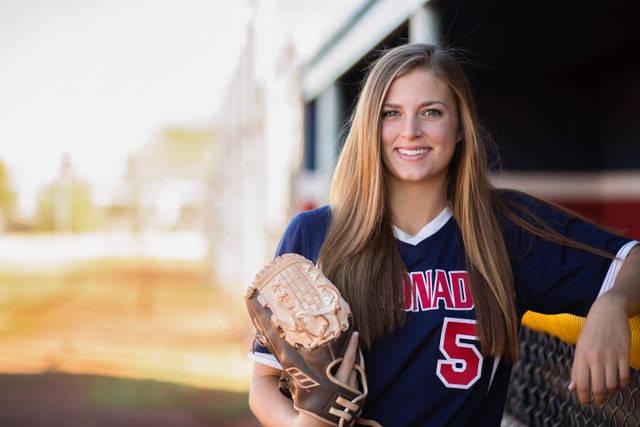 Coronado's Tatum Spangler is a member of the Las Vegas Review-Journal's all-state softball team.