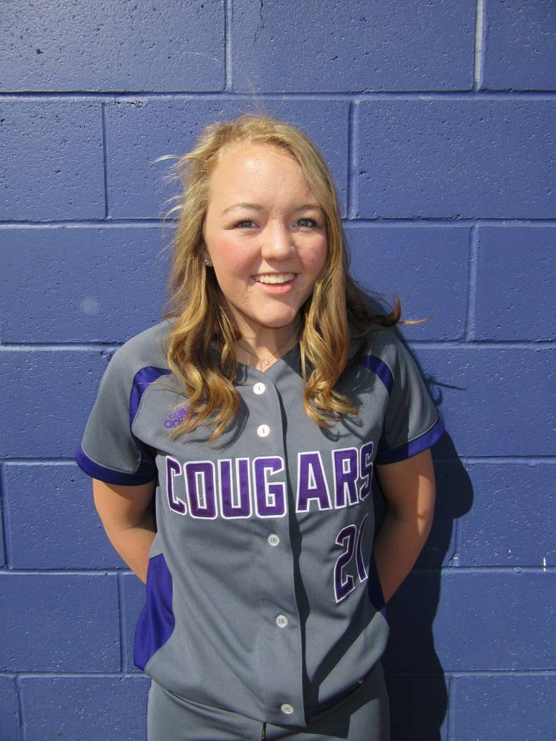 Spanish Springs' Tyra Clary is a member of the Las Vegas Review-Journal's all-state softball team.