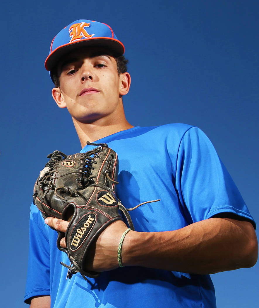Bishop Gorman's Carson Wells is a member of the Las Vegas Review-Journal's all-state baseball team.