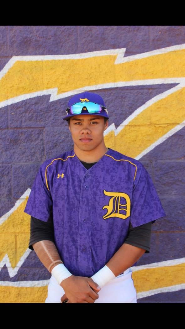 Durango's Duke Pahukoa is a member of the Las Vegas Review-Journal's all-state baseball team.