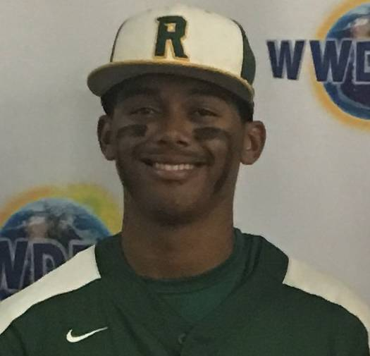 Rancho's Edarian Williams is a member of the Las Vegas Review-Journal's all-state baseball team.