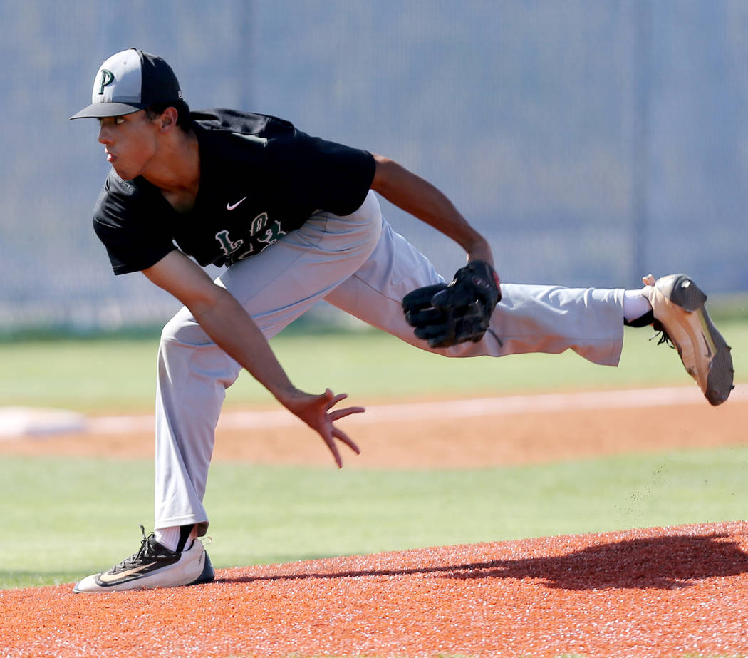 Palo Verde's Jacob Godman is a member of the Las Vegas Review-Journal's all-state baseball team.