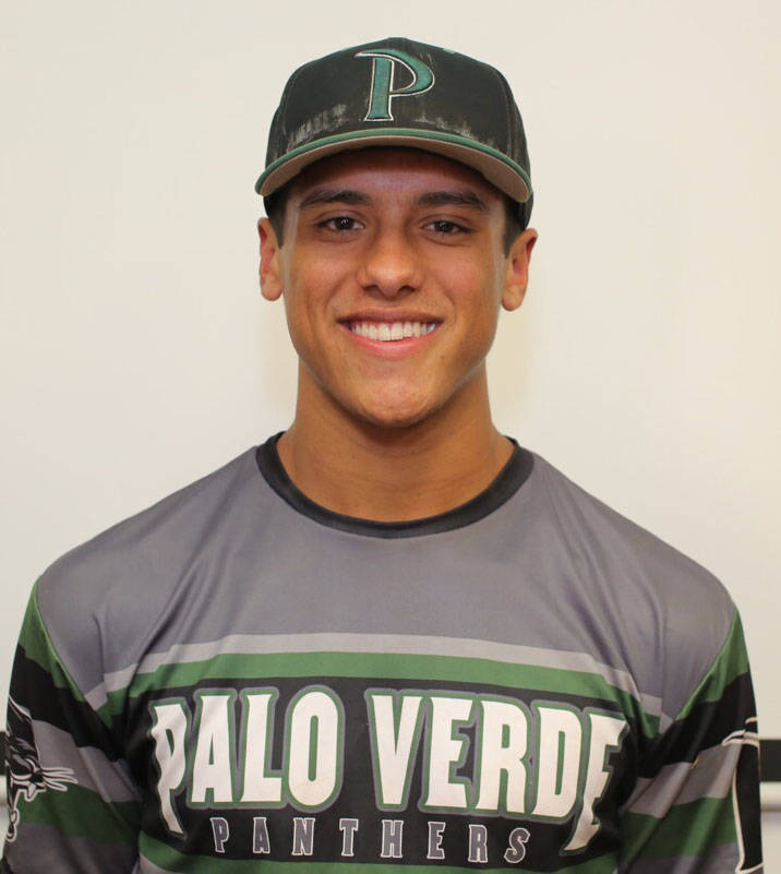 Palo Verde's Jaret Godman is a member of the Las Vegas Review-Journal's all-state baseball team.