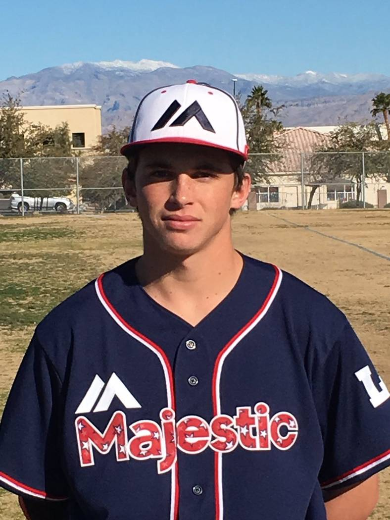 Cimarron-Memorial's Trevor Doyle is a member of the Las Vegas Review-Journal's all-state baseball team.