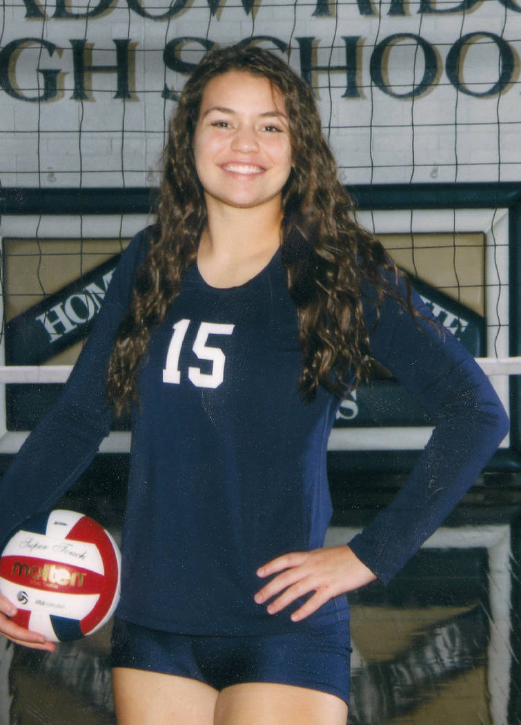 Shadow Ridge's Whittnee Nihipali is a member of the Las Vegas Review-Journal's all-state girls volleyball team.