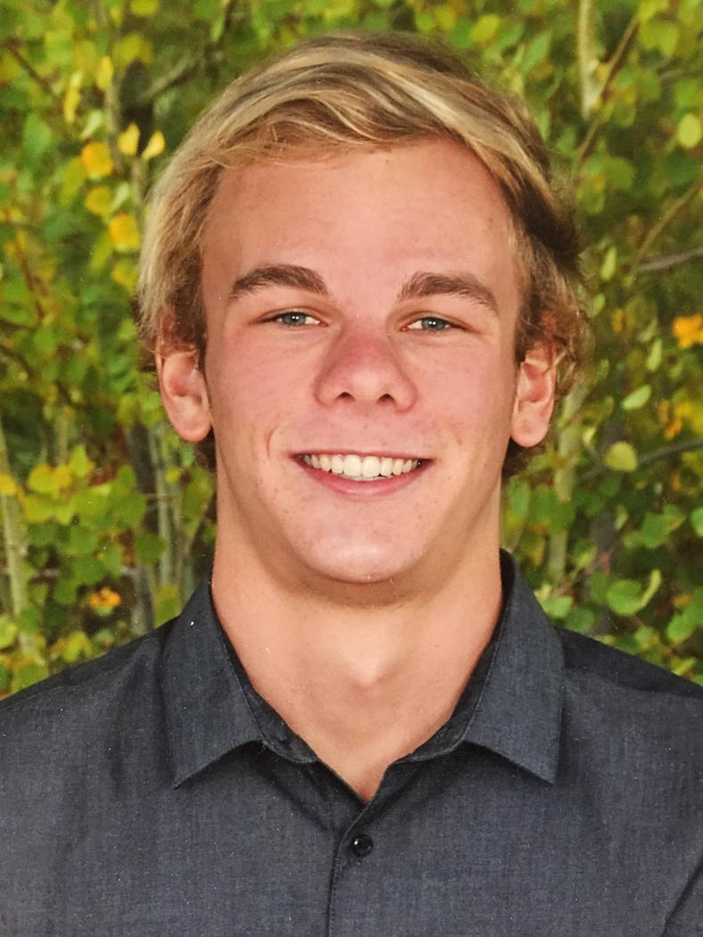 Truckee's Cooper DeRyk is a member of the Las Vegas Review-Journal's all-state boys swimming team.