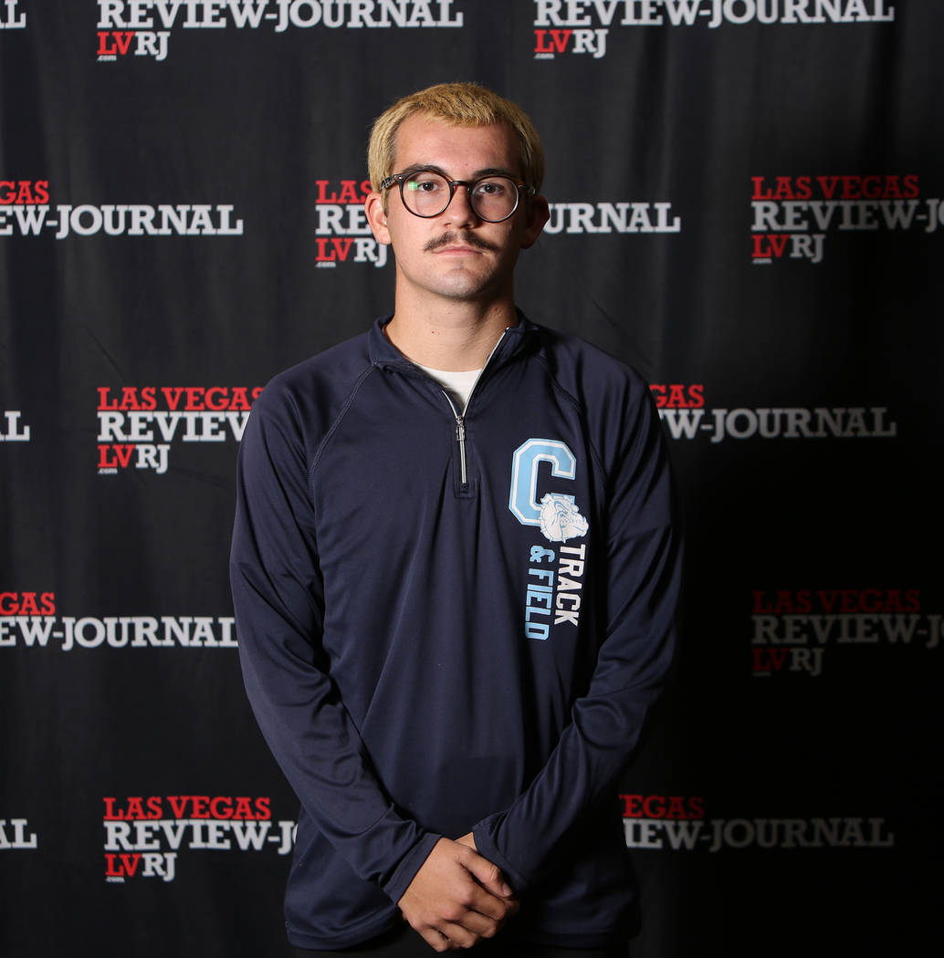 Centennial's Alexander Miller is a member of the Nevada Preps all-state boys cross country team.
