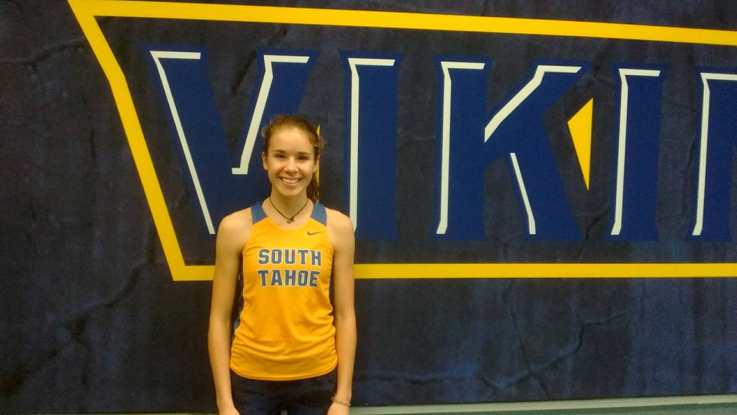 South Tahoe's Carissa Buchholz is a member of the Nevada Preps all-state girls cross country team.
