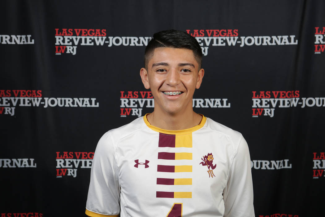 Eldorado's Alejandro Plazola is a member of the Nevada Preps all-state boys soccer team.