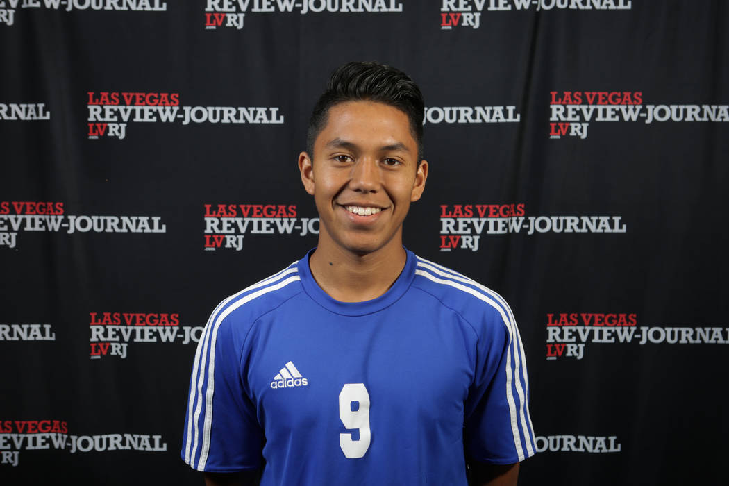 Desert Pines' Joel Sanchez is a member of the Nevada Preps all-state boys soccer team.