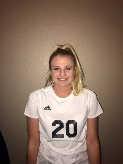 Palo Verde's Carlee Giammona is a member of the Nevada Preps all-state girls soccer team.