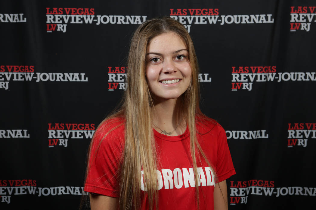 Coronado's Alysa Caso is a member of the Nevada Preps all-state girls soccer team.