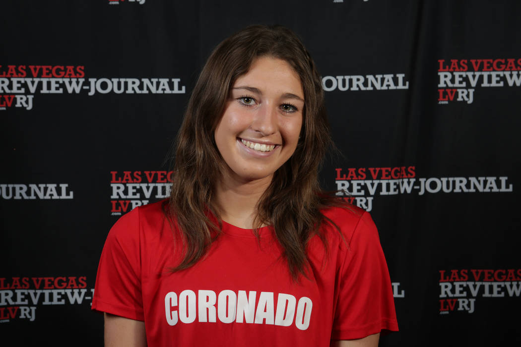 Coronado's Kaitlyn Kowalchuk is a member of the Nevada Preps all-state girls soccer team.