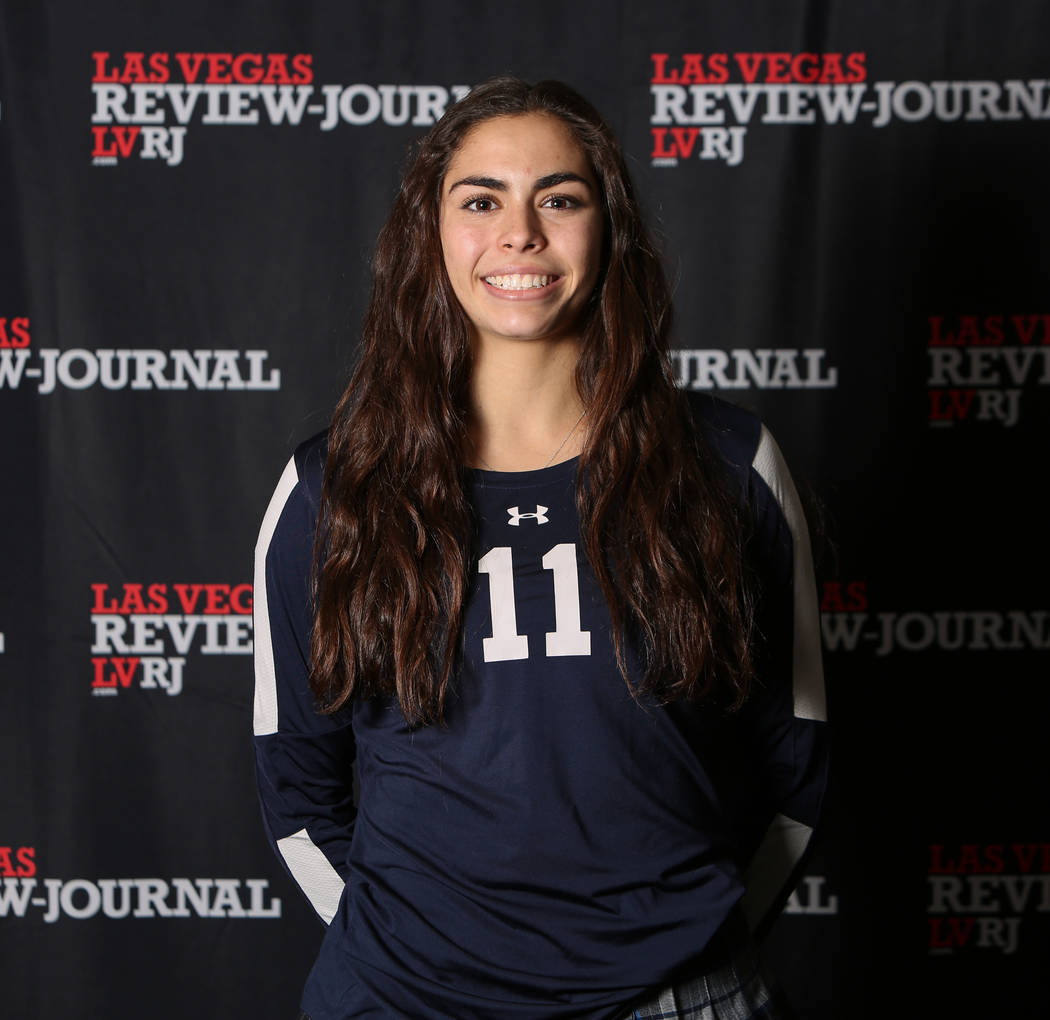 The Meadows' Dani Mason is a member of the Nevada Preps all-state girls volleyball team.