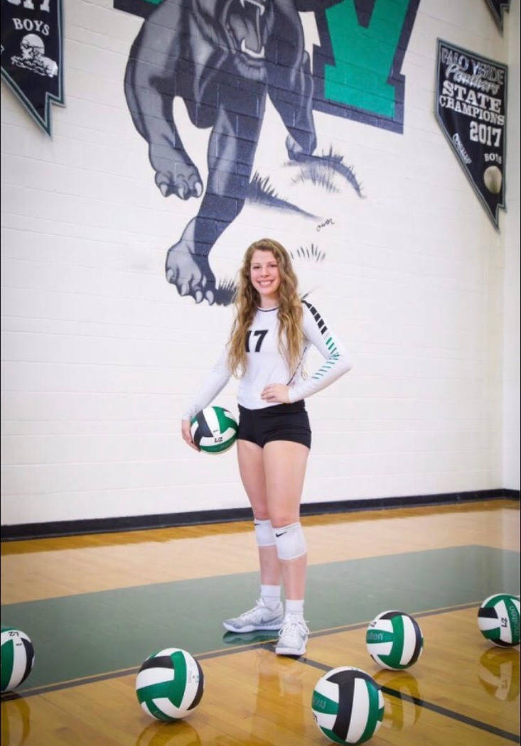 Palo Verde's Mia Sadler is a member of the Nevada Preps all-state girls volleyball team.