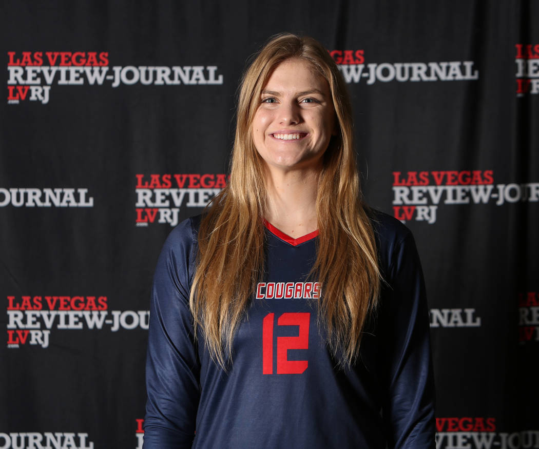 Coronado's Sasha Bolla is a member of the Nevada Preps all-state girls volleyball team.