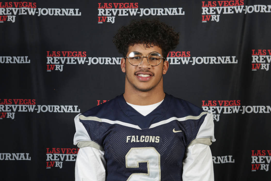 Foothill's Jordan Blakely is a member of the Nevada Preps all-state football team.