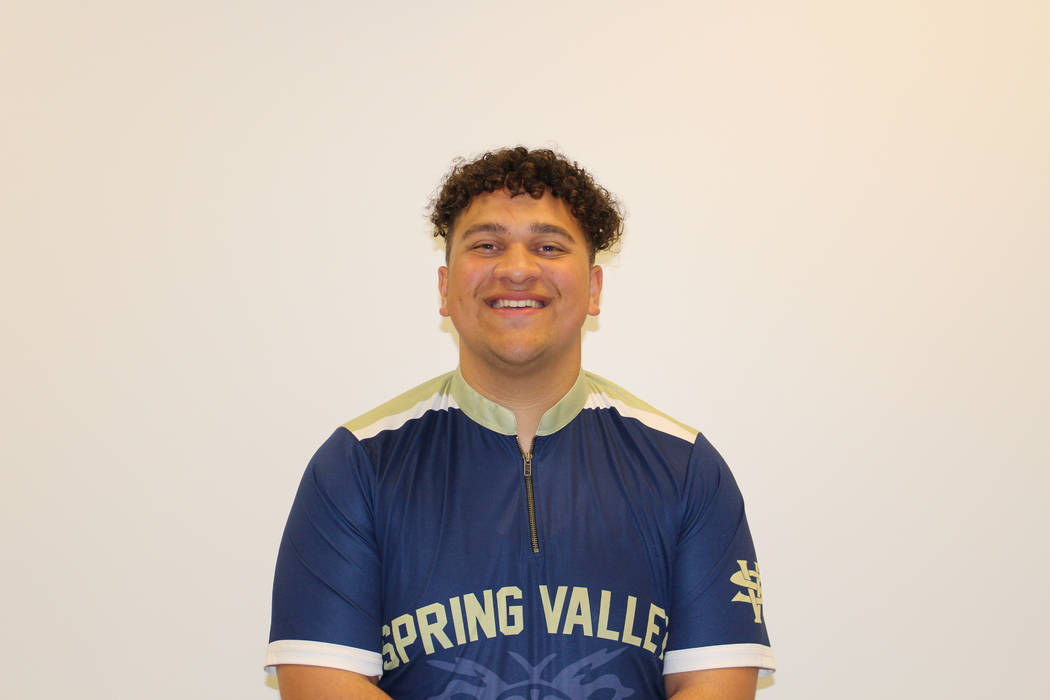 Spring Valley's Ku'uleialoha Mortensen is a member of the Nevada Preps all-state bowling team.
