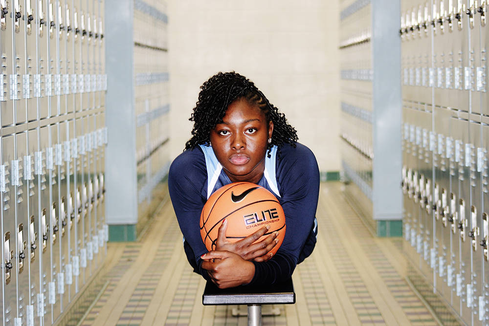 Centennial's Eboni Walker is a member of the Nevada Preps all-state girls basketball team