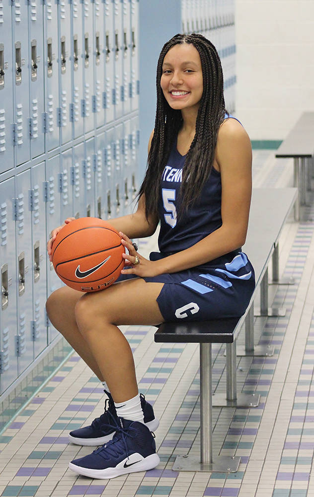 Centennial's Jade Thomas is a member of the Nevada Preps all-state girls basketball team