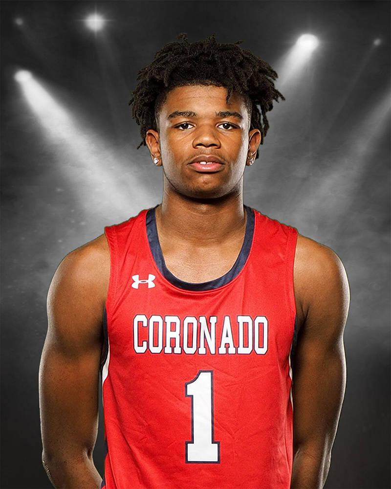 Coronado's Jaden Hardy is a member of the Nevada Preps all-state boys basketball team.