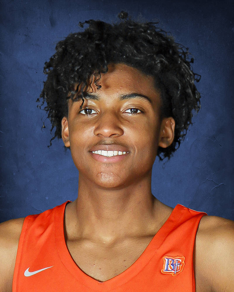 Bishop Gorman's Zaon Collins is a member of the Nevada Preps all-state boys basketball team.