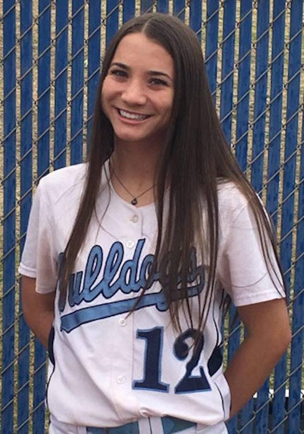 Centennial's Abby Hanley is a member of the Nevada Preps all-state softball team.