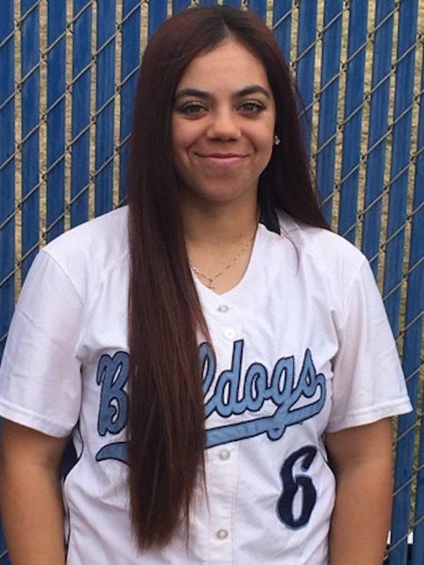 Centennial's Deanna Barrera is a member of the Nevada Preps all-state softball team.